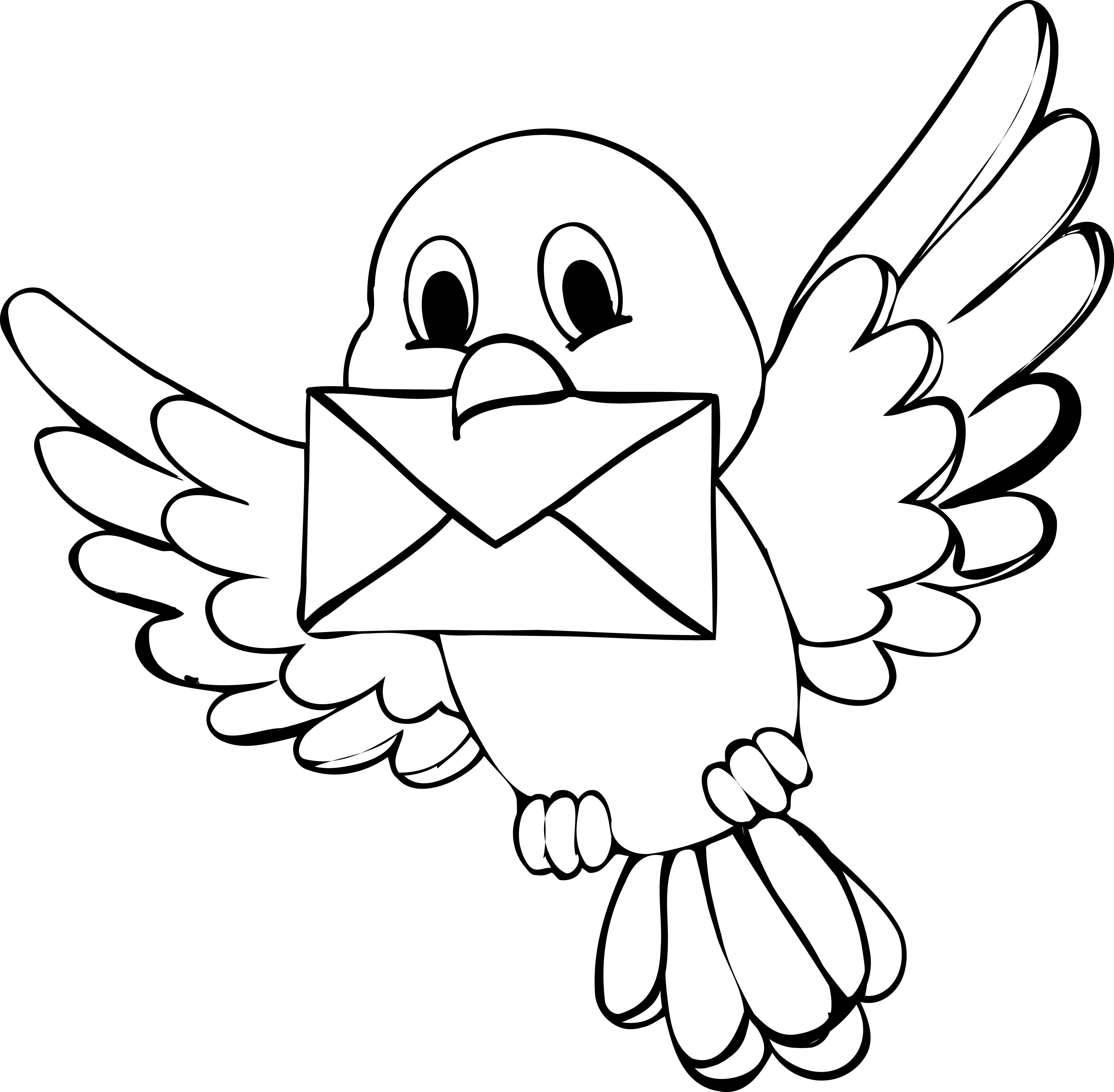 cute bird coloring page wecoloringpage