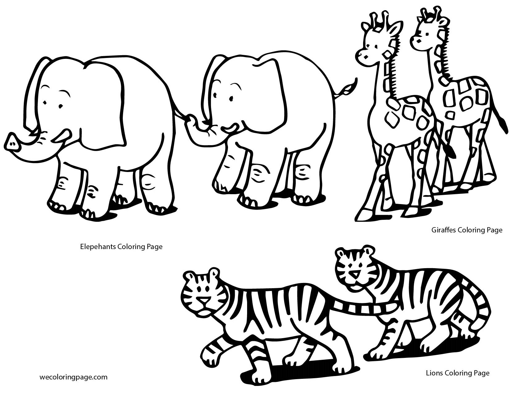 Best Animals Coloring Pages