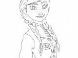 Best Frozen Coloring Page