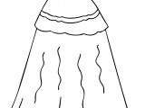 Dress Coloring Pages Printable