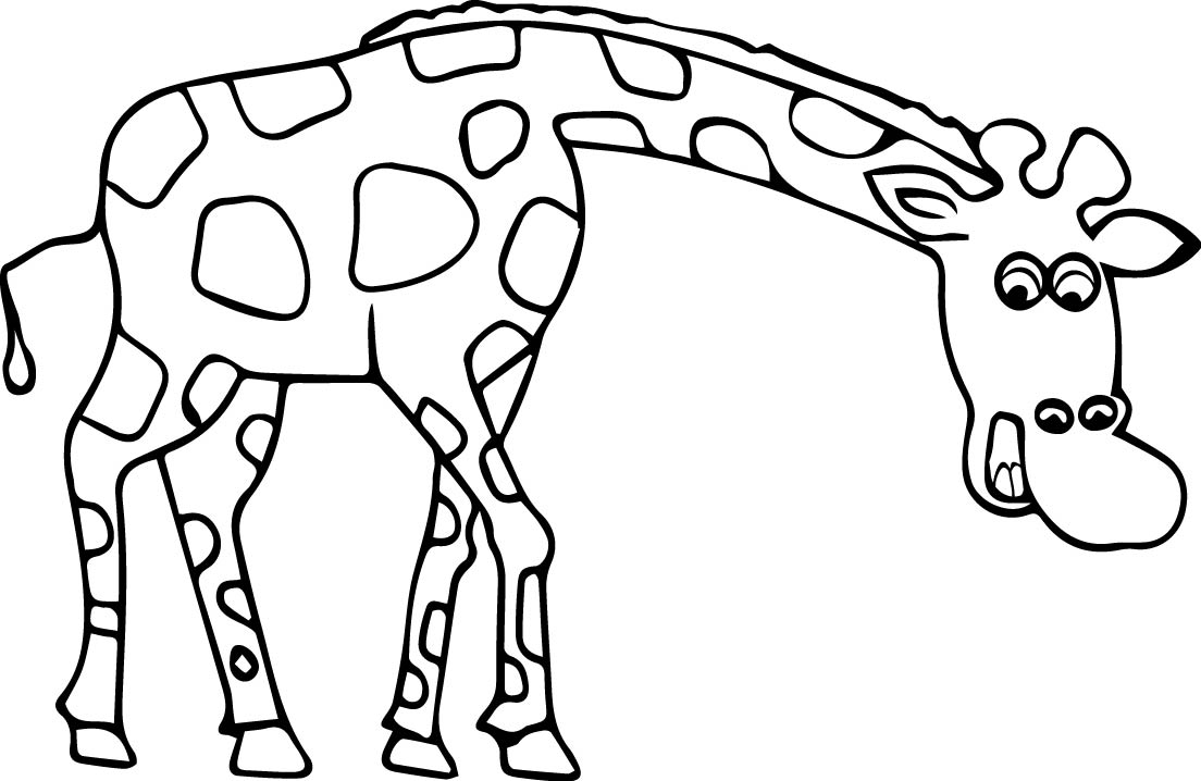 Giraffe Coloring Pages Fascinating Giraffe Coloring Page  Wecoloringpage Design Inspiration