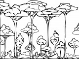 Rainforest Coloring Page