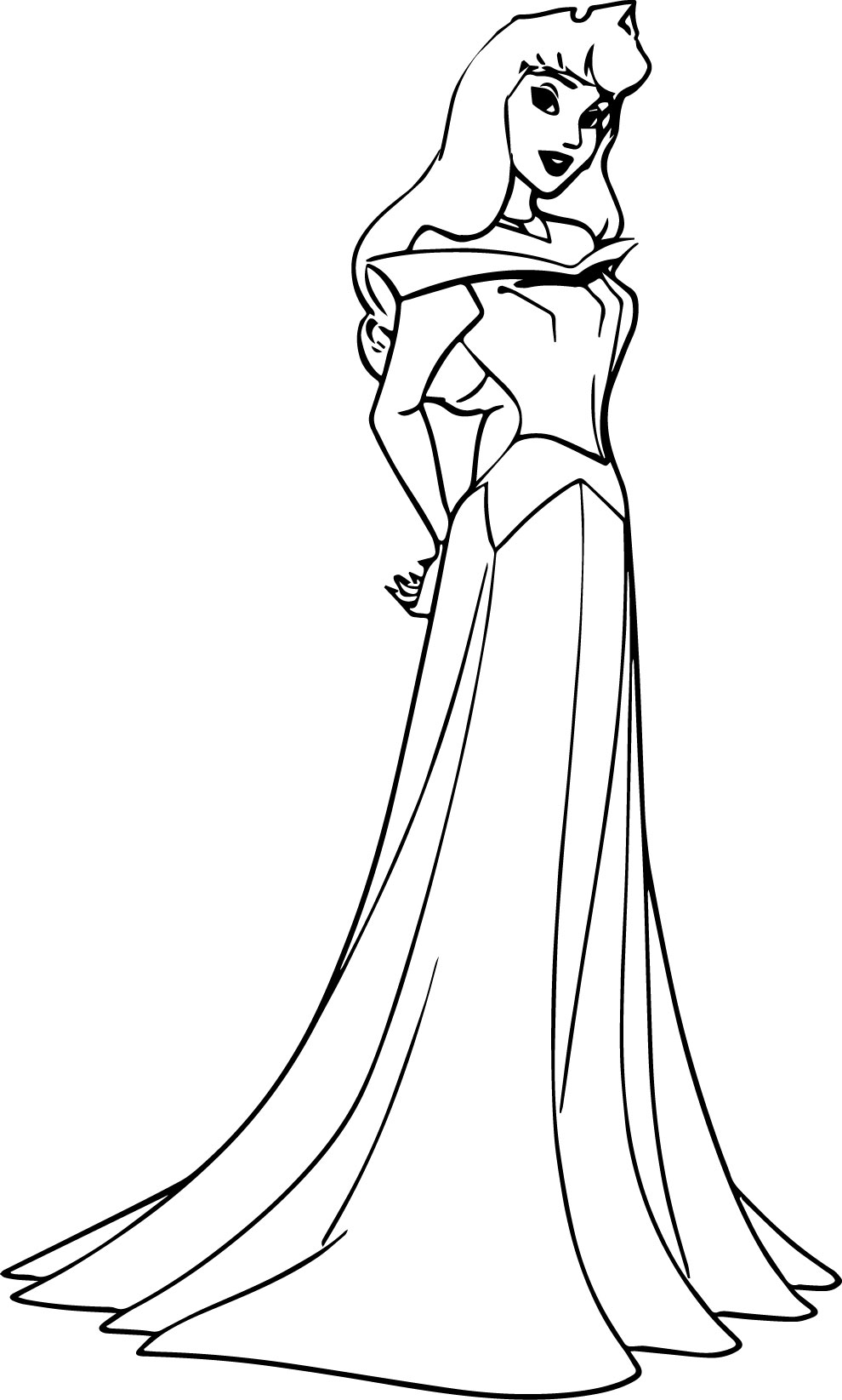 Disney princess coloring pages aurora - Disney Coloring Pages