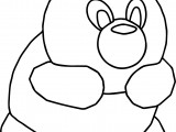 Cartoon Animal Coloring Page