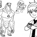 Ben10 Coloring Pages