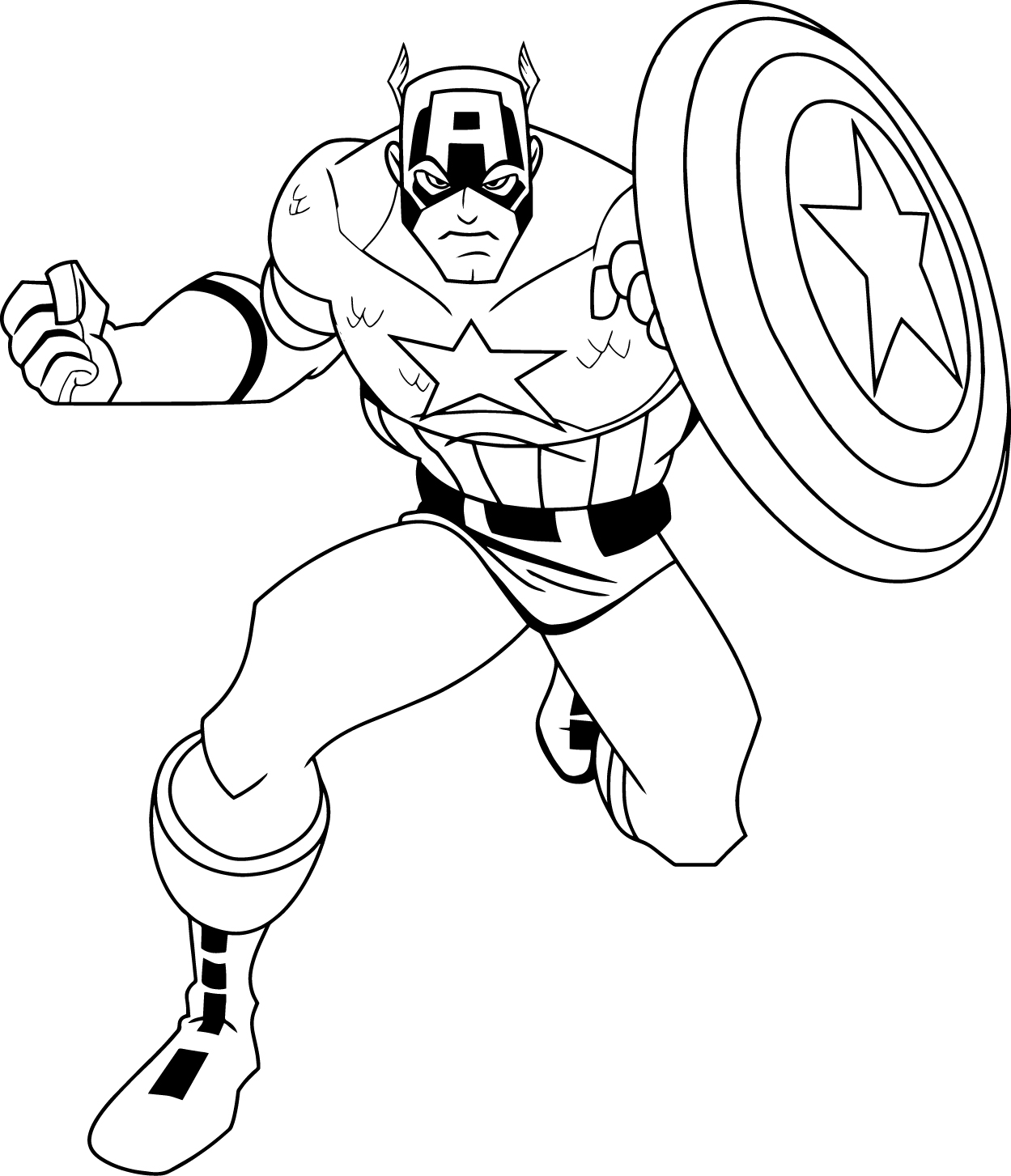 Coloring Pages Captian America Coloring Pages captain america coloring pages wecoloringpage pages