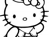 Hello Kitty Coloring Page 02 (2)
