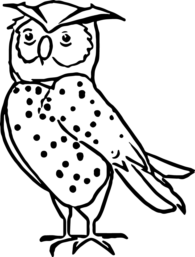 Night Animal Coloring Pages