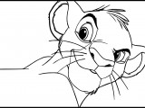 Simba The Lion King Coloring Pages