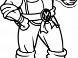 Ninja Turtle Cartoon Coloring Pages
