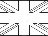 National Flags Coloring Page
