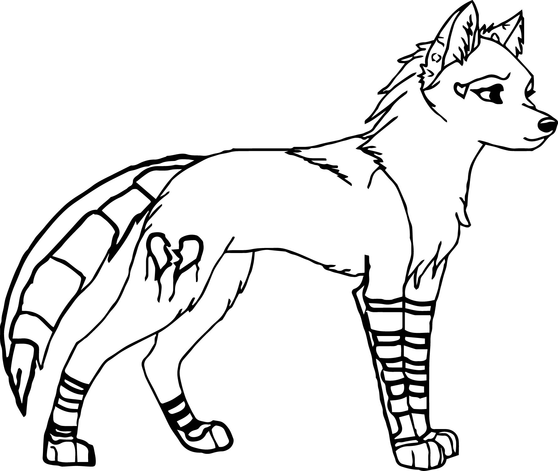 Female Wolf Coloring Pages Wecoloringpage