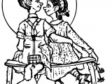 Norman Rockwell Coloring Pages