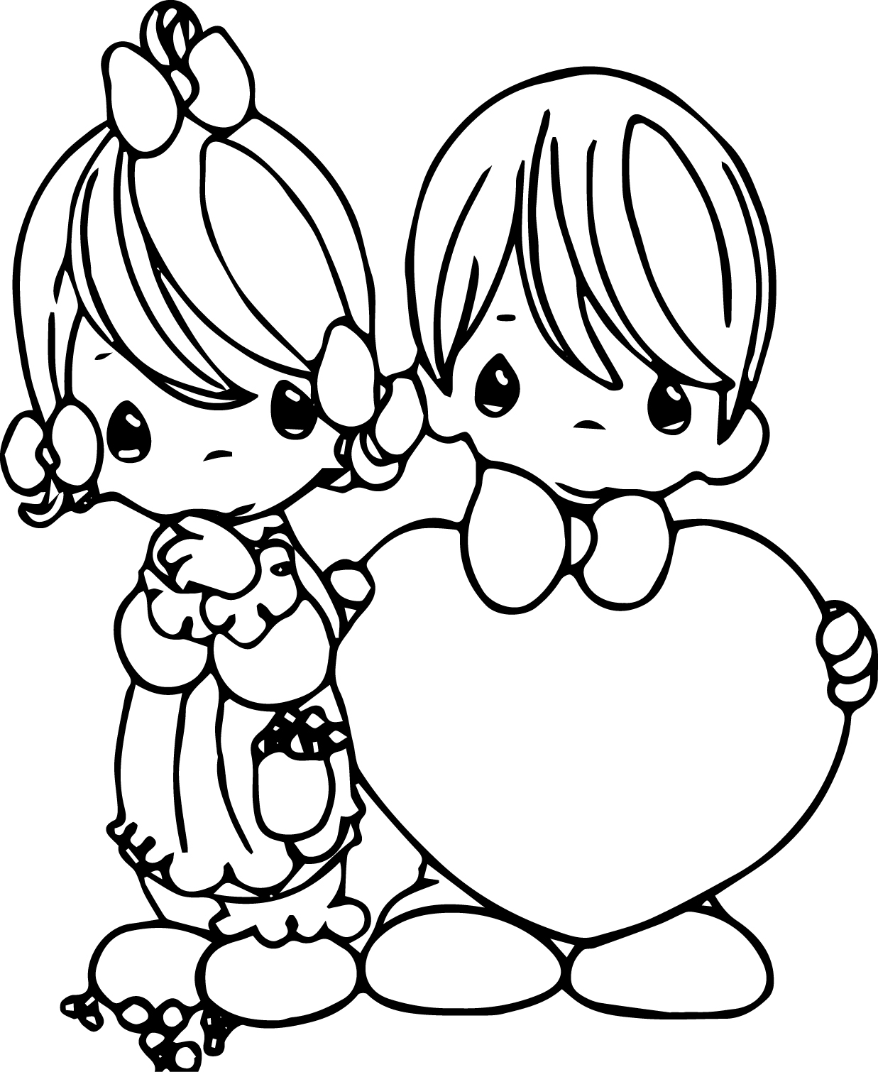 Precious Moments Coloring Pages Wecoloringpage