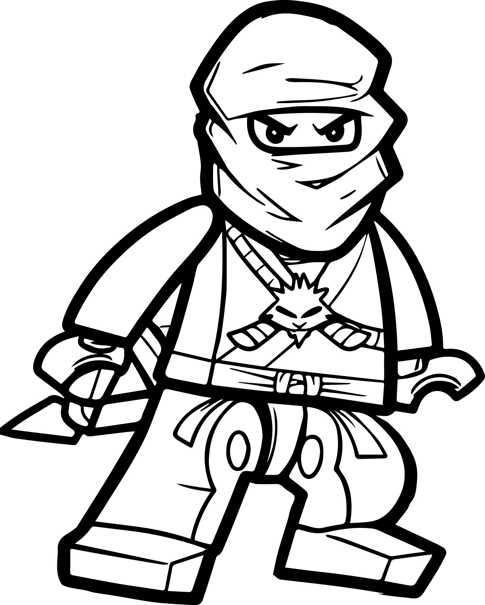 ninja cat coloring pages - photo#30