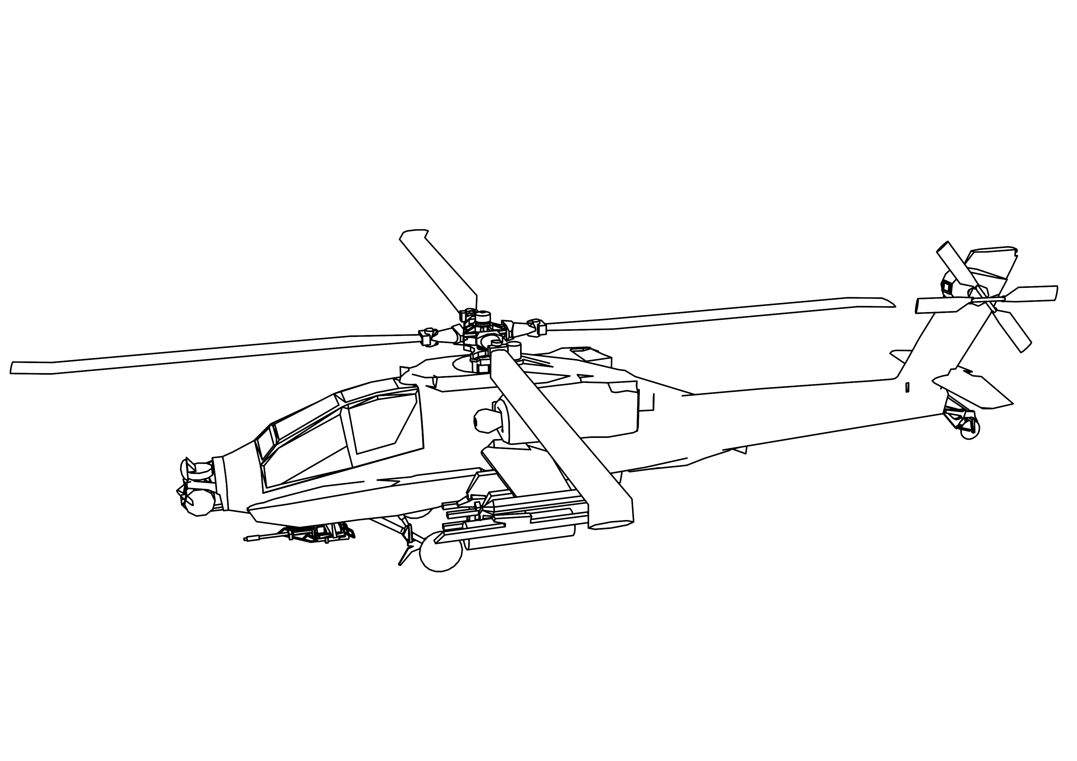 helicopter coloring pages wecoloringpage