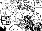 Ben Ten Ben 10 Coloring Pages