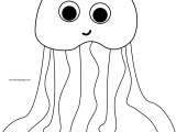 jellyfish wecoloringpage coloring page