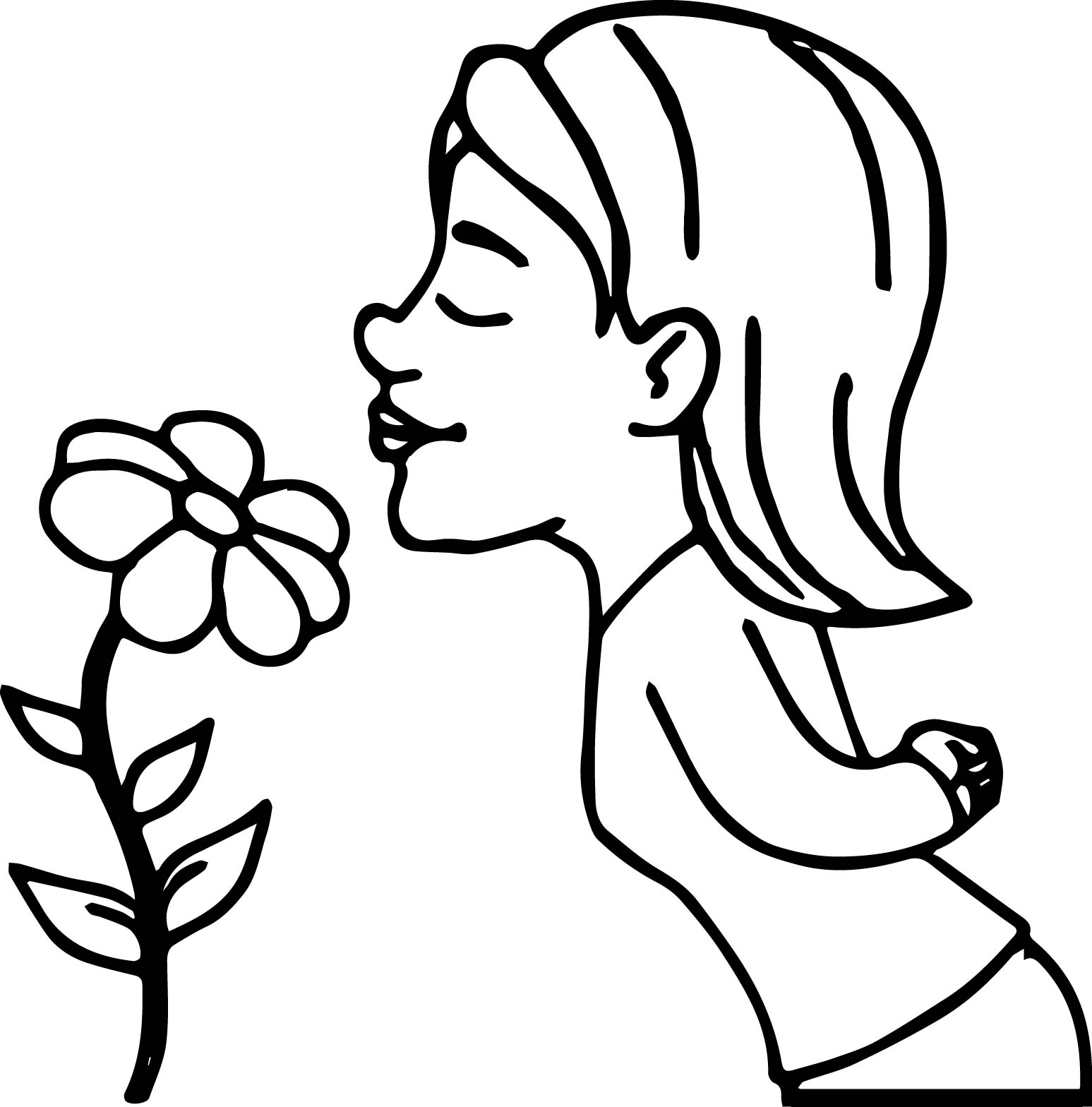 Rainforest flower coloring pages - Flower Coloring Pages