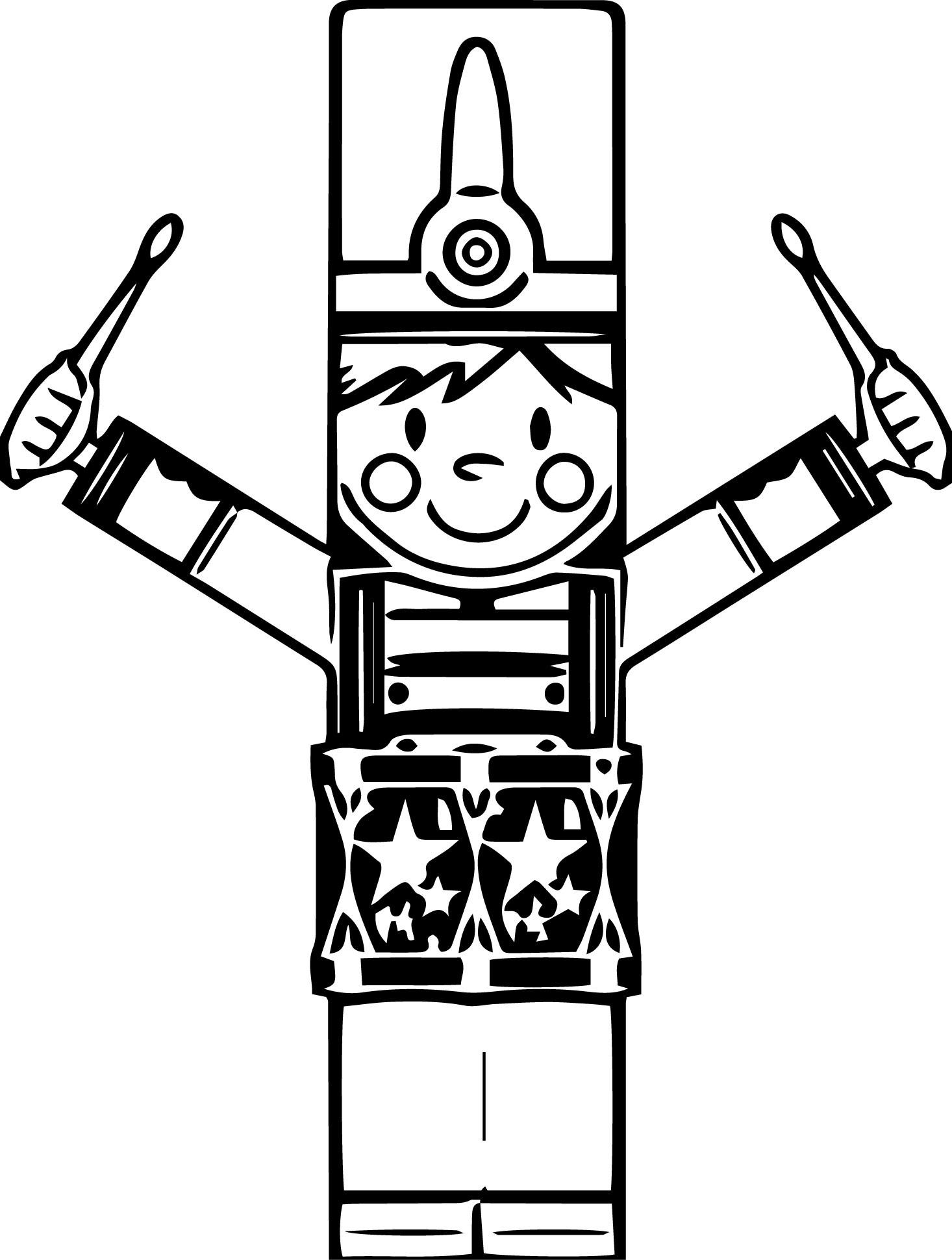 Clip Art The Nutcracker Coloring Pages nutcracker coloring pages wecoloringpage pages