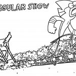 Regular Show Picture Mordercai Coloring Page