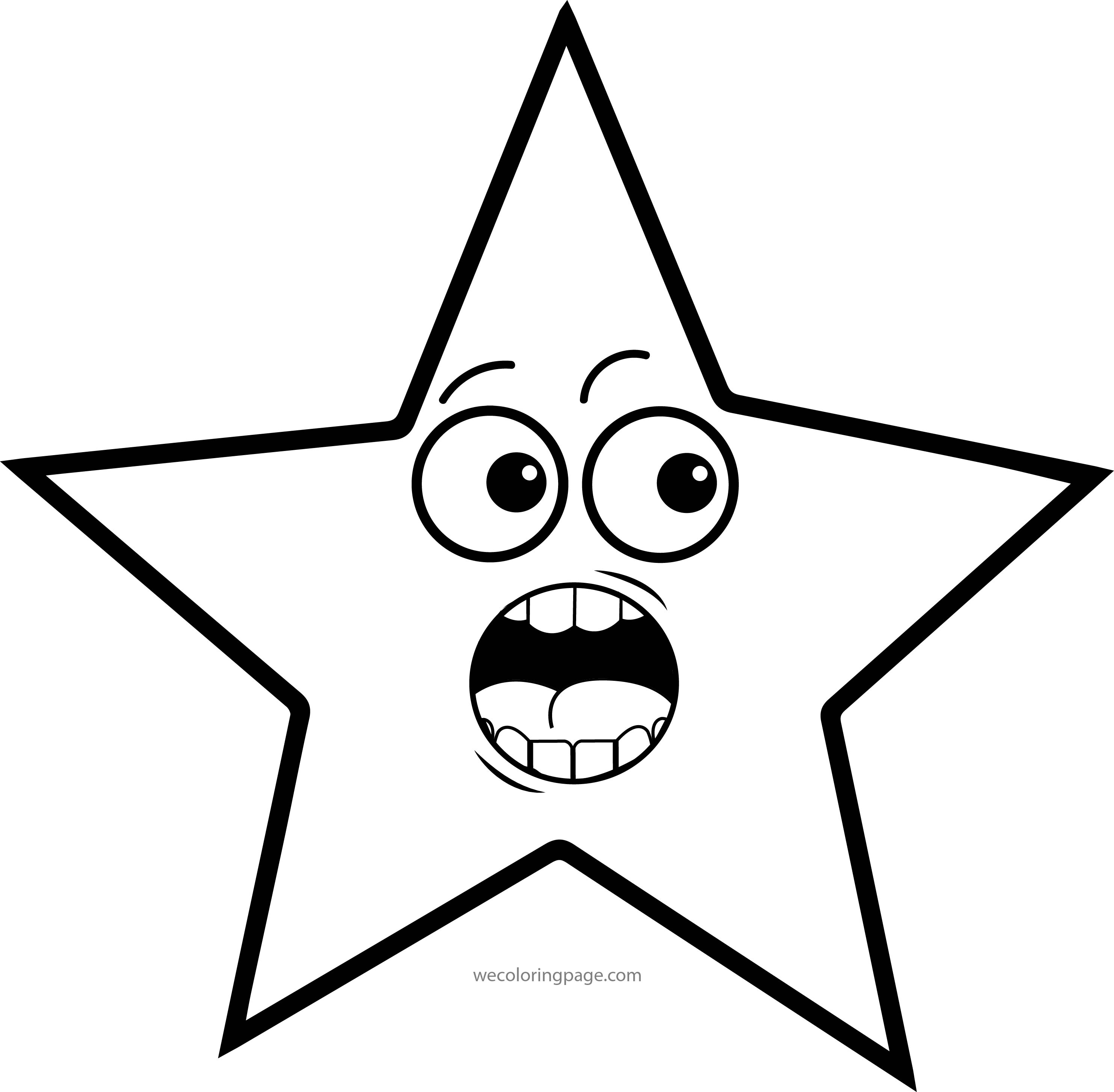 Coloring pages eyes - Stars Coloring Pages Wecoloringpage