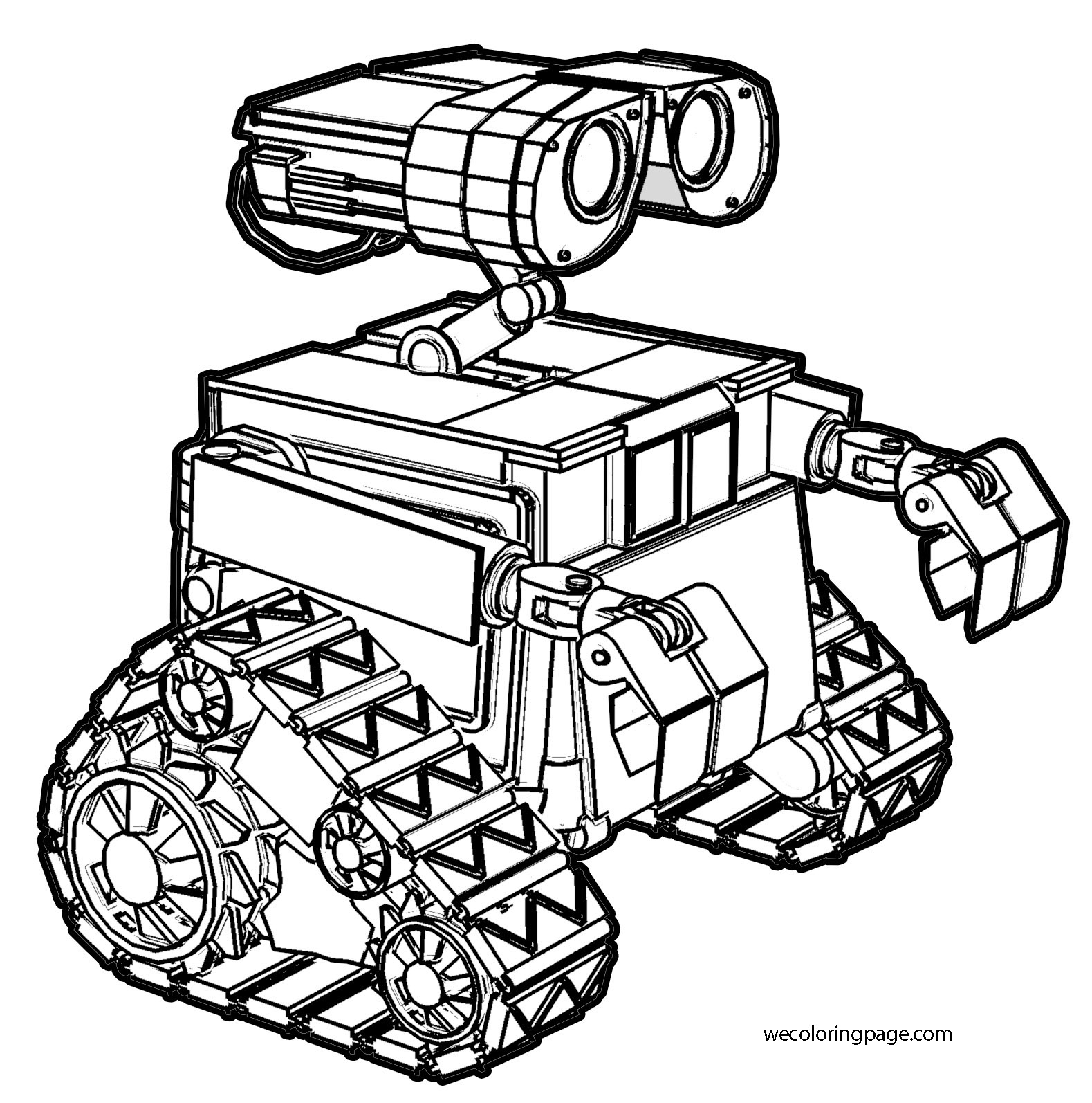 wall_e coloring pages - photo#28