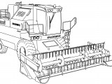 Work Vehicle Coloring Pages