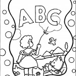 Abc Animal Coloring Pages