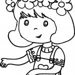 Drawing Amelia Bedelia Girl Coloring Page