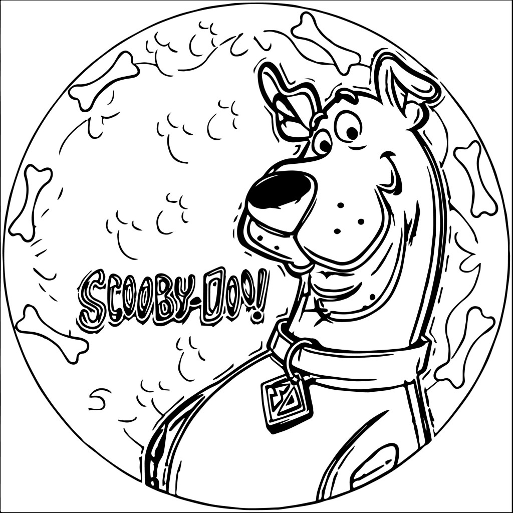 Scooby Doo Coloring Pages Wecoloringpage Com