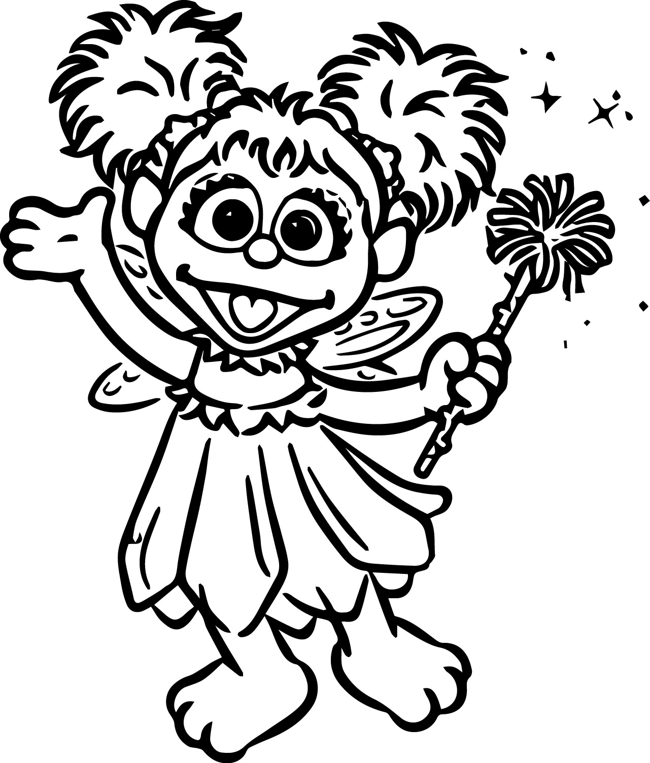 Coloring Pages Abby Cadabby Coloring Page abby cadabby coloring pages wecoloringpage pages