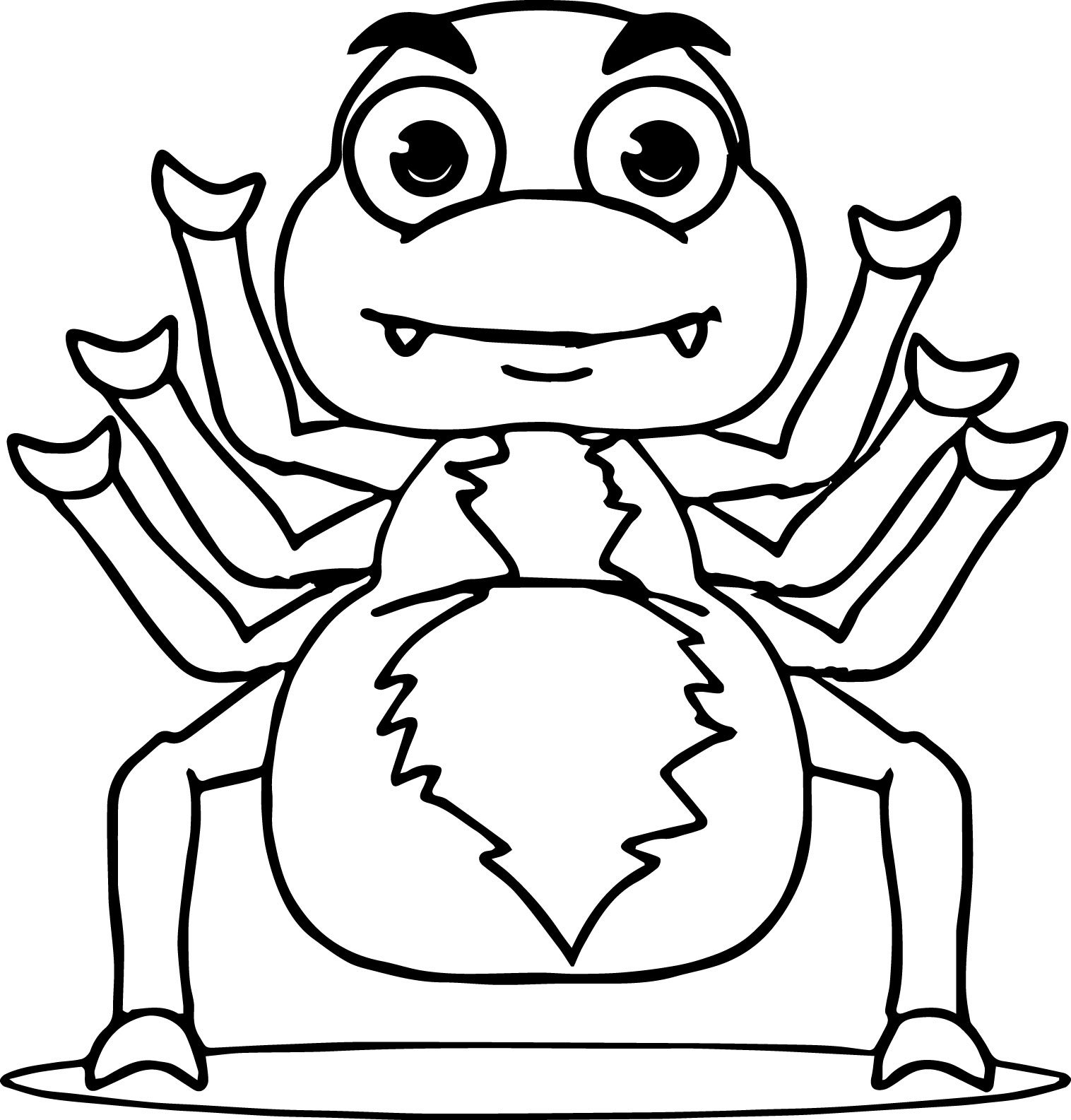 Anansi Coloring Pages