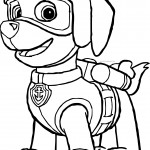 zuma paw patrol coloring page