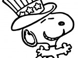 Happy 4th Of July Cartoon Coloring Pages