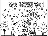 barney and friends placemats 2 sizes disney party coloring page