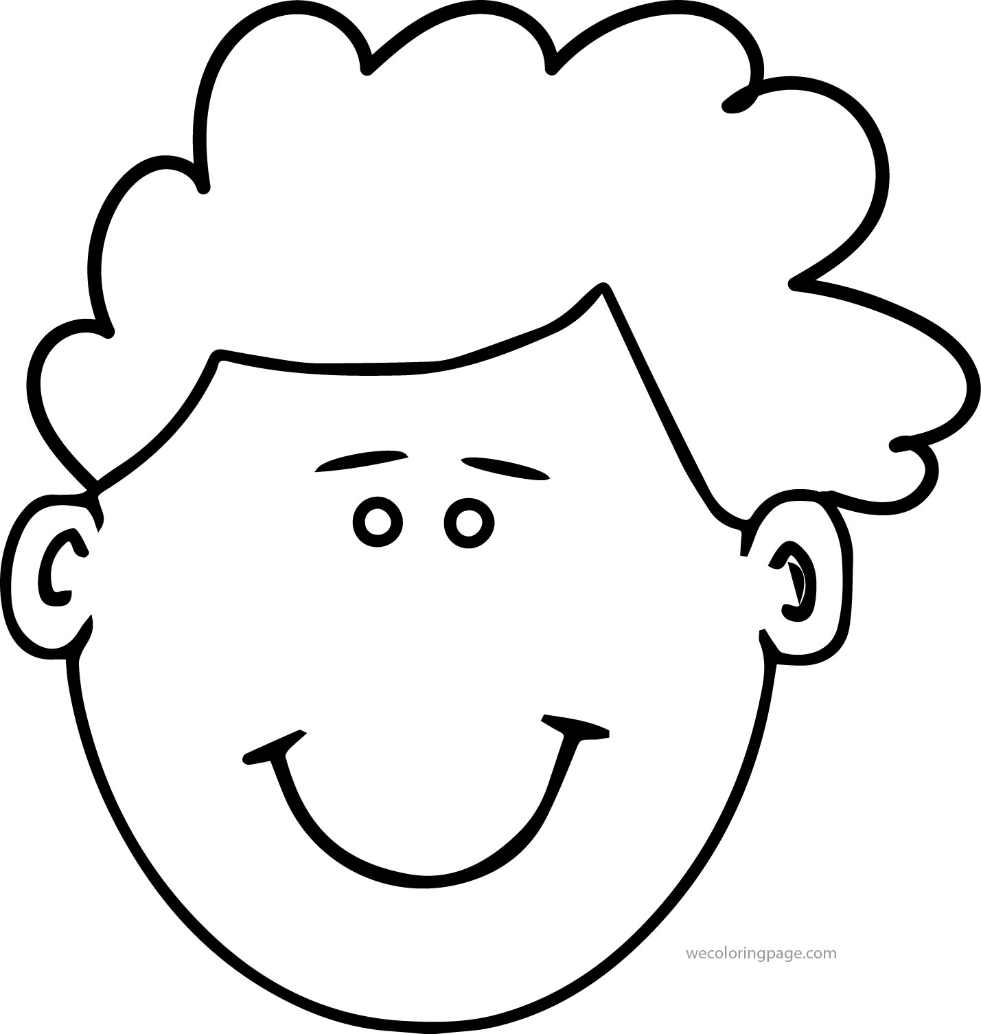 coloring pages childrens face - photo#22