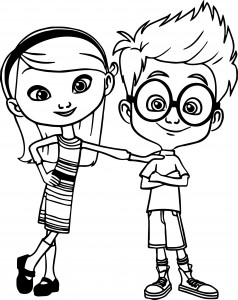 penny sherman coloring page