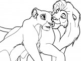 Sarafina Lion King Coloring Pages