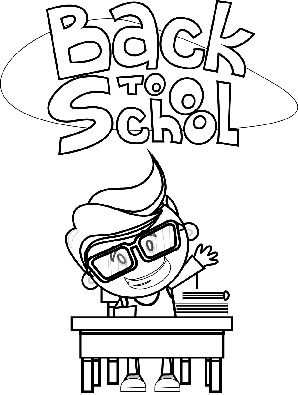 school kids coloring pages | Student Coloring Pages | Wecoloringpage.com
