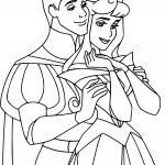 Disney Aurora and Phillip Coloring Pages