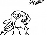 Disney Bambi Thumber Bunny Coloring Pages