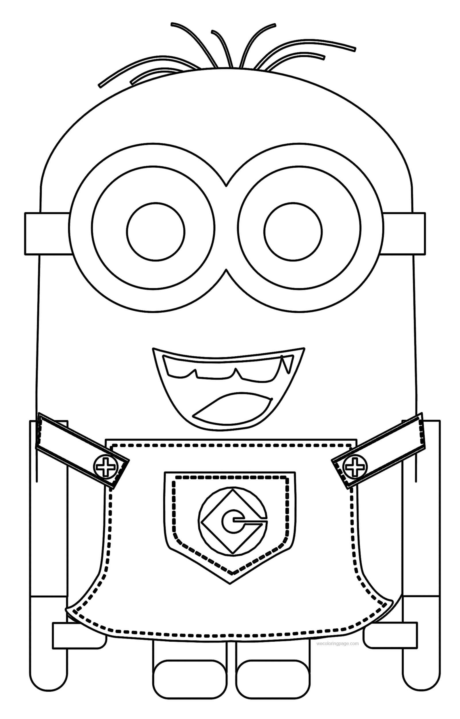 Minions Best Coloring Pages