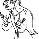 The Black Cauldron Eil Girl Coloring Page