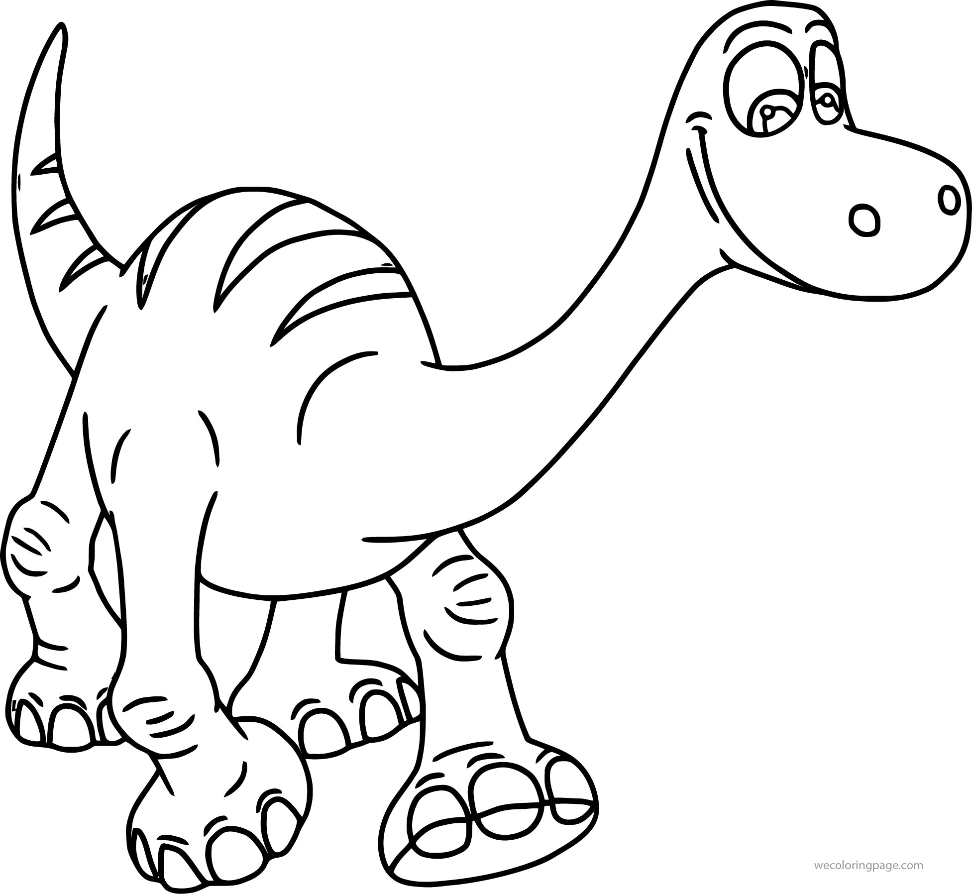 the good dinosaur disney coloring pages wecoloringpage
