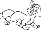 The Fox and the Hound Coloring Pages