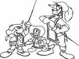 Disney The Three Musketeers Coloring Pages