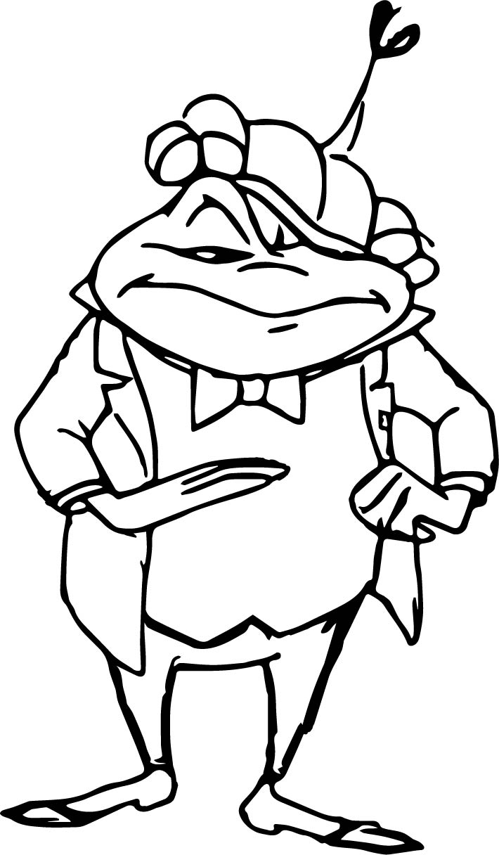 Disneys The Adventures Of Ichabod And Mr Toad Coloring Pages