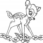 bambi coloring-pages