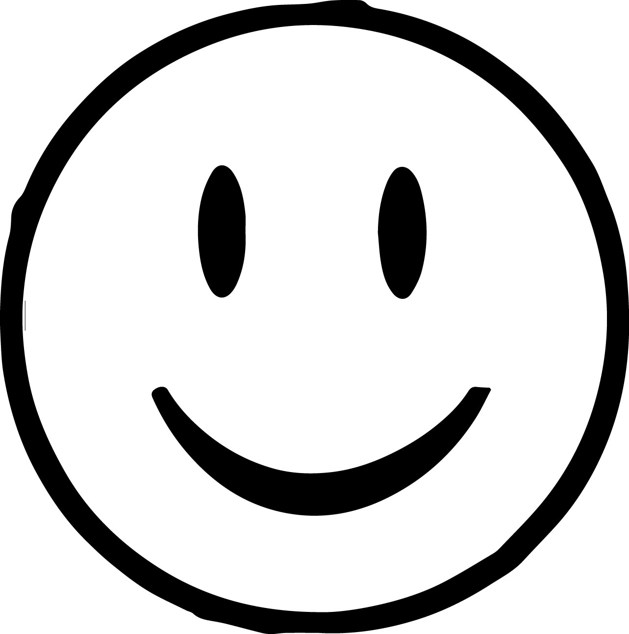 Emoticon Face Coloring Pages